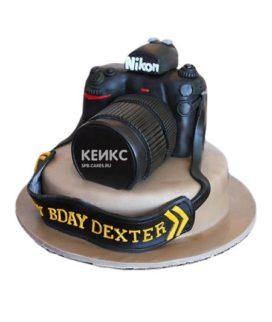 Торт Фотоаппарат 3