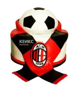 Торт Футбольный Милан 3
