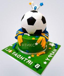 Торт Футбольный Мяч 13