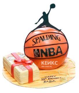 Торт Баскетбольный Мяч 9