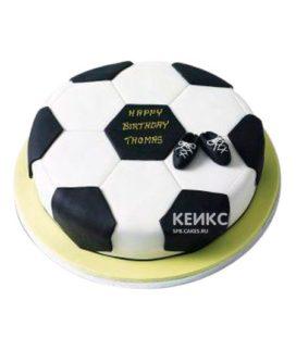 Торт Футбольный Мяч 4