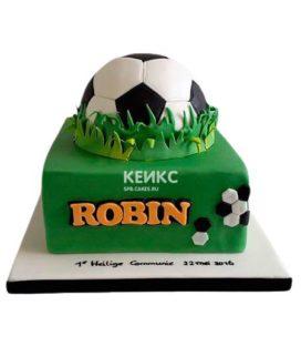 Торт Футбольный Мяч 6
