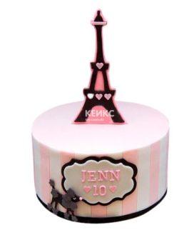 Торт Эйфелева башня 1