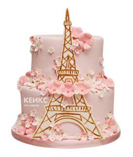 Торт Эйфелева башня 16