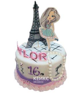 Торт Эйфелева башня 2