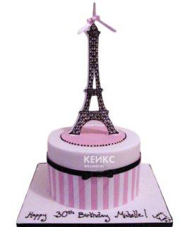 Торт Эйфелева башня 7