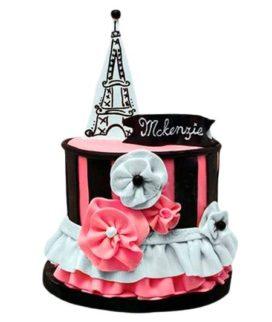 Торт Эйфелева башня 8