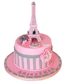 Торт Эйфелева башня 9