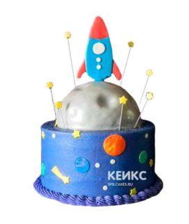 Торт Космический корабль 10