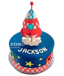 Торт Космический корабль 11