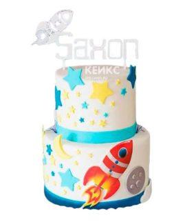 Торт Космический корабль 12