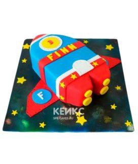Торт Космический корабль 4