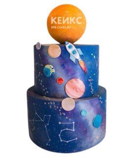 Торт Космический корабль 7