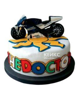 Торт Мотоцикл 11