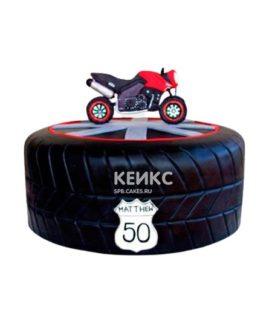 Торт Мотоцикл 13