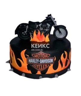 Торт Мотоцикл 17