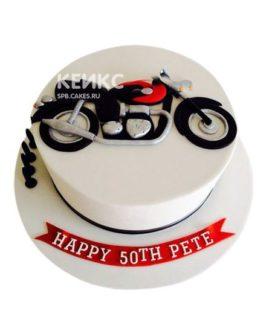 Торт Мотоцикл 5