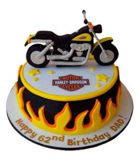 Торт Мотоцикл 8