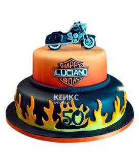 Торт Мотоцикл 9