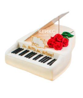 Торт Пианино 10