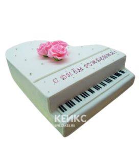 Торт Пианино 11