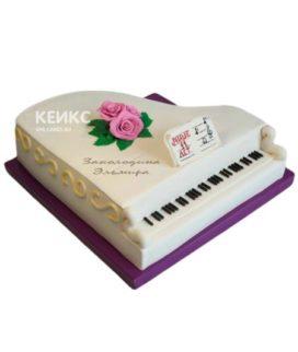 Торт Пианино 12