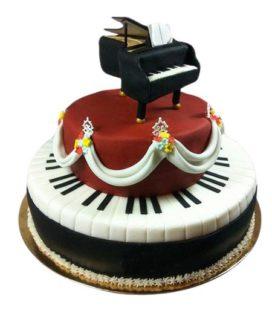Торт Пианино 13