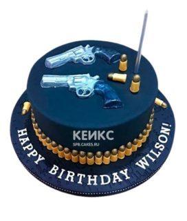 Торт Пистолет 3