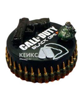 Торт Пистолет 4