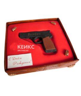 Торт Пистолет 5