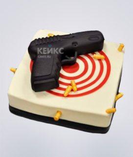Торт Пистолет 6
