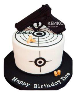 Торт Пистолет 9