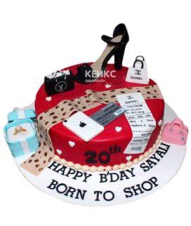 Торт Подруге 33