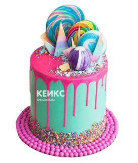 Торт Радужный 11