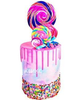 Торт Радужный 13