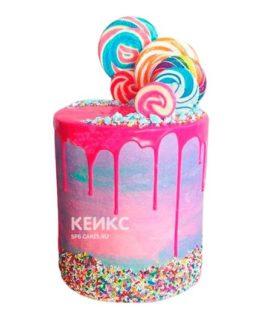 Торт Радужный 14