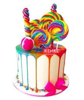 Торт Радужный 18