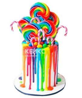 Торт Радужный 19