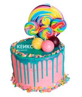 Торт Радужный 9