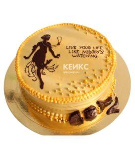 Торт в стиле Ретро 5