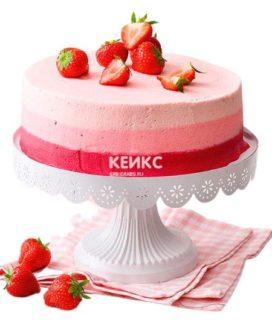 Торт с клубникой 12