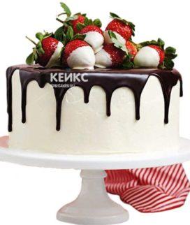 Торт с клубникой 14