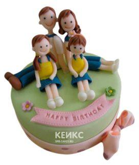 Торт Семья 4