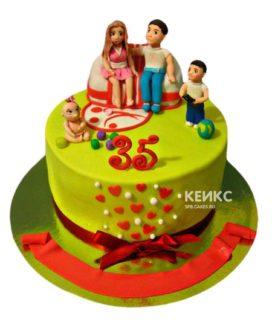 Торт Семья 5