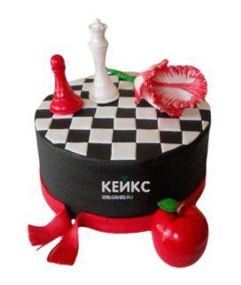 Торт Шахматы 10