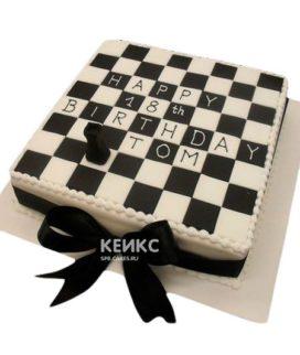 Торт Шахматы 11
