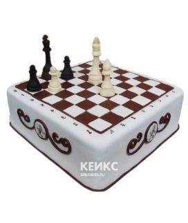 Торт Шахматы 14