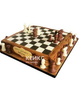 Торт Шахматы 7