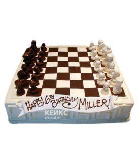 Торт Шахматы 8