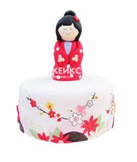 Торт в Японском стиле 11